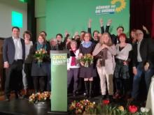 Gruppenfoto der Kandidat*innen auf dem Landesparteitag in Hannover