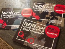 Großdemo gegen das Niedersächsische Polizeigesetz